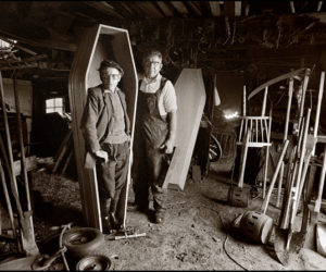 coffinmaker at Ohermong-Co Kerry-1985-by Richard Fitzgerald