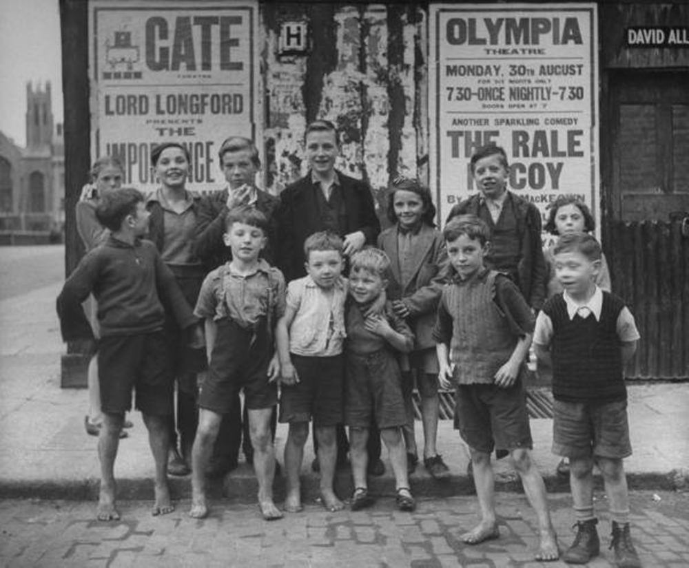 Liberties children in 1940s