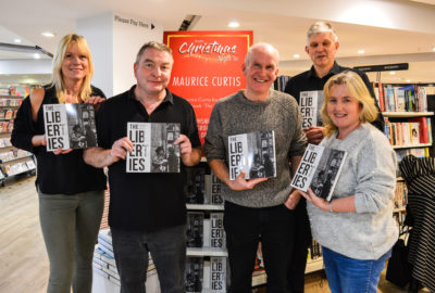 The launch of Maurice Curtis new book The Liberties.