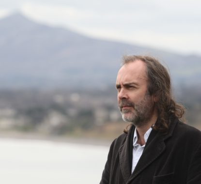 Columnist John Waters pictured at Killiney head, Dublin.