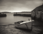 Boat at Dalkey in Dublin