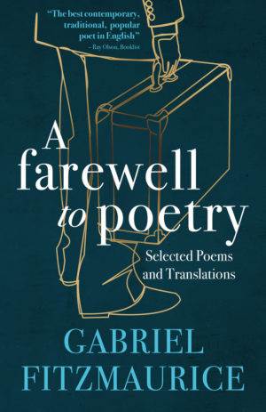 A Farewell to Poetry by Gabriel Fitzmaurice book cover